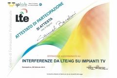 INTERFERENZE DA LTE 4G SU IMPIANTI TV 08.02.2013